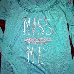 🔥Girl's Miss Me Fringe Bottom Top 🔥 EUC!!❤